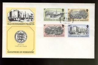 Guernsey 1978 Old Guernsey Prints Fdc photo