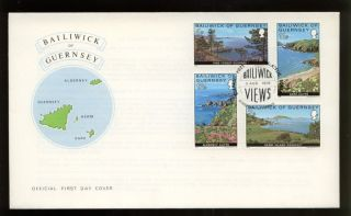 Guernsey 1976 Bailiwick Views Fdc photo