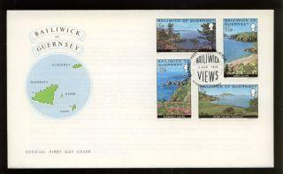 Guernsey 1976 Bailiwick Views Fdc photo