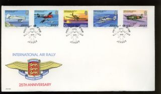 Jersey 1979 International Air Rally Fdc photo