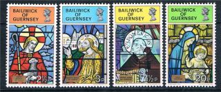Guernsey 1973 Christmas Sg 89/92 photo