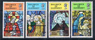 Guernsey 1973 Christmas Sg 89/92 photo