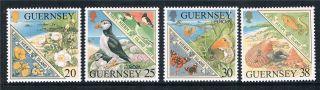 Guernsey 1999 Europa Sg 833/6 photo