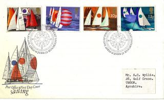 11 June 1975 Sailing Post Office First Day Cover Bureau Shs photo