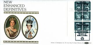 10 January 1990 Penny Black Anniversary 34p Cylinder Benham D126 Fdc Kidderminst photo
