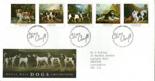 8 January 1991 Dogs Crufts Anniversary Royal Mail First Day Cover Bureau Shs photo