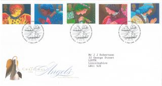 1998 Christmas,  Philatelic Bureau Postmark Fdc photo