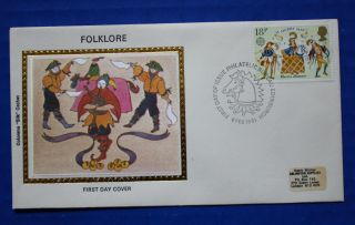 Great Britain (934) 1981 Folklore Colorano