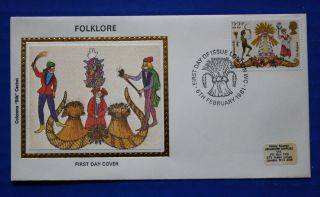 Great Britain (935) 1981 Folklore Colorano