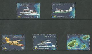 Guernsey - 1994 - Sg645 To Sg649 - Cv £ 3.  75 - Unmounted photo