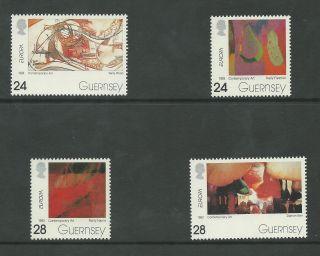 Guernsey - 1993 - Sg607 To Sg610 - Cv £ 2.  75 - Unmounted photo