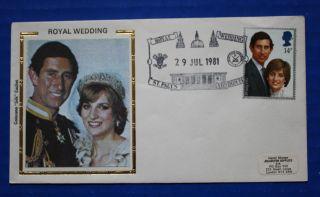 Great Britain (950) 1981 Royal Wedding Colorano