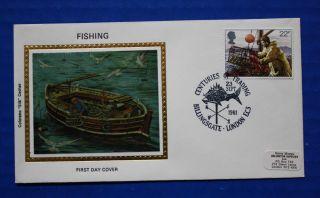 Great Britain (958) 1981 Fishing Colorano