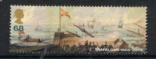Battle Of Trafalgar Franco/spanish Fleet Off Cadiz On 2005 Gb Stamp - Nh photo