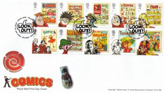 Comics - The Dandy,  The Beano,  Topper - Royal Mail Stamp Fde / Fdc - 20.  03.  2012 photo