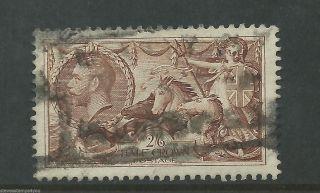 George V - 1934 - Sg450 - Seahorse - Cv £ 40.  00 - photo