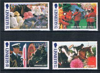 Guernsey 1998 Europa Sg 781/4 photo