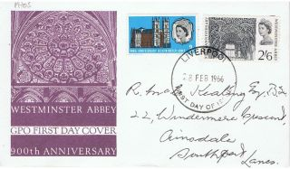 Great Britain - 1966 - Sg687 & Sg688 - Cv £ 14.  00 - Phospher photo