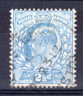 Gb = Town/village Cancel - E7,  `bristol` Registered Oval (1912) photo