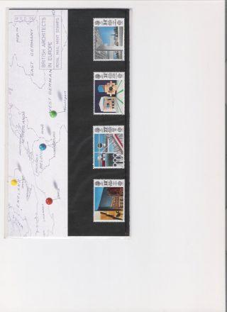 1987 Royal Mail Presentation Pack British Architects photo