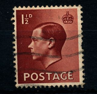 B46 Gb 1936 Sg457wi 1.  1/2d Red - Brown photo