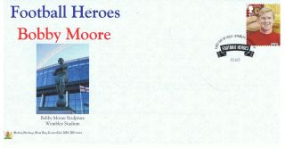 Bobby Moore - Football Hero Limited Edition (100 Only) British Heritage Cover photo