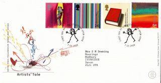 (26232) Gb Fdc Artists Tale - Stratford - Upon - Avon 7 December 1999 photo