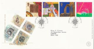 (26230) Gb Fdc Christians Tale - St Andrews 2 November 1999 photo