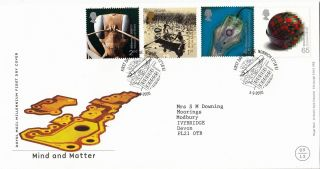 (26197) Gb Fdc Mind And Matter - Norwich 5 September 2000 photo