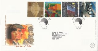 (26253) Gb Fdc Workers Tale - Belfast 4 May 1999 photo