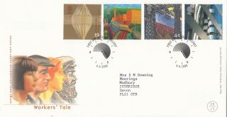 (26254) Gb Fdc Workers Tale - Belfast 4 May 1999 photo