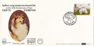 (27857) Clearance Gb Cover Spillers Kennel Club Crufts Dog Show London 7 Feb 79 photo