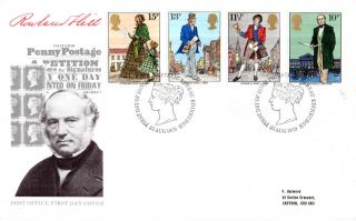 22 August 1979 Sir Rowland Hill Post Office First Day Cover Bureau Shs (p) photo