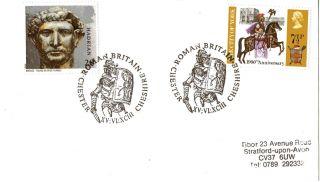15 June 1993 Roman Britain Cover Roman Britain Chester Cheshire Shs photo