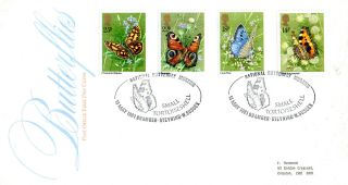13 May 1981 Butterflies Post Office First Day Cover National Butterfly Museum photo