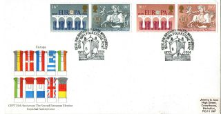 15 May 1984 Europa Royal Mail First Day Cover Sealink Folkestone Kent Shs photo