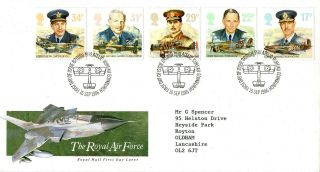 16 September 1986 Royal Air Force Royal Mail First Day Cover Bureau Shs photo