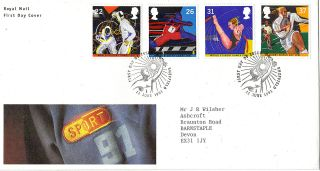 11 June 1991 Sport Royal Mail First Day Cover Better - Sheffield Shs photo