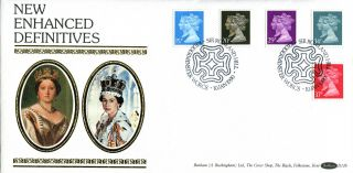 10 January 1990 Penny Black Anniversary Benham D126 First Day Cover Kidderminste photo