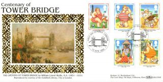 12 April 1994 Picture Postcards Benham Blcs 93b First Day Cover Tower Bridge Shs photo