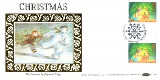 17 November 1987 Christmas Benham Blcs 28 First Day Cover Christleton Shs (a) photo