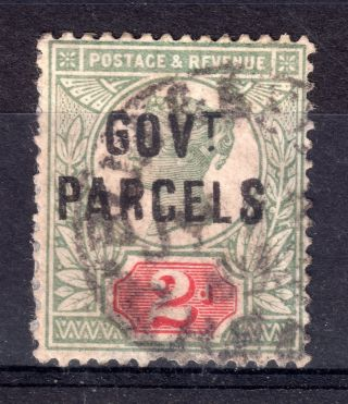 Gb = Town/village Cancel - Qv,  `bu??eel? / Chesh (ire) ` 2d Govt.  Parcels Official photo