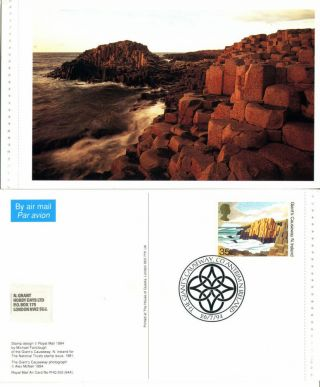 26 July 1994 Northern Ireland Regional Phq / Air Card Giants Causeway Shs photo