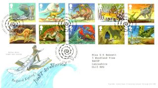 15 January 2002 Just So Stories Royal Mail First Day Cover Burwash Shs (a) photo
