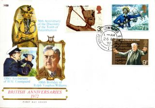 26 April 1972 General Anniversaries Philart First Day Cover House Of Commons Cds photo