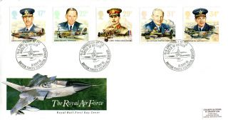 16 September 1986 Royal Air Force Royal Mail First Day Cover Bob Bfpo 2123 Shs photo