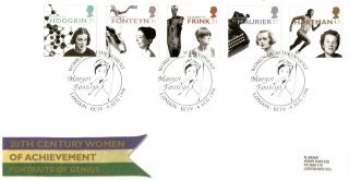 6 August 1996 Women Of Achievement Royal Mail First Day Cover Margot Fonteyn Shs photo