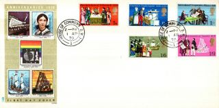 1 April 1970 General Anniversaries Philart First Day Cover House Of Commons Cds photo