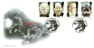 13 May 1997 Tales Of Terror Royal Mail First Day Cover Better Whitby Shs photo