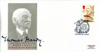 10 July 1990 Thomas Hardy Royal Mail First Day Cover Dorchester Shs (a) photo